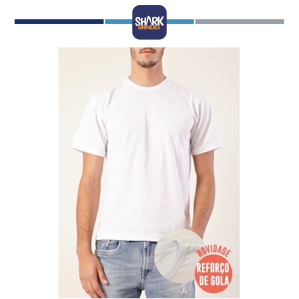 Camiseta de Algodão Personalizada