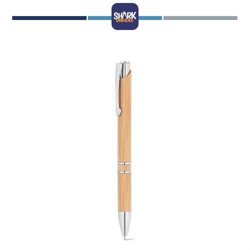 Caneta Bambu Personalizada