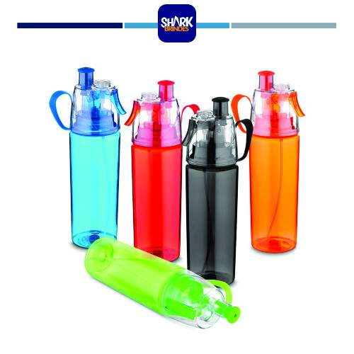 Garrafa plástica com Spray Personalizada
