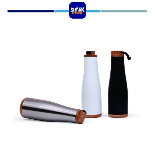 Garrafa aço inox Rubber Handle
