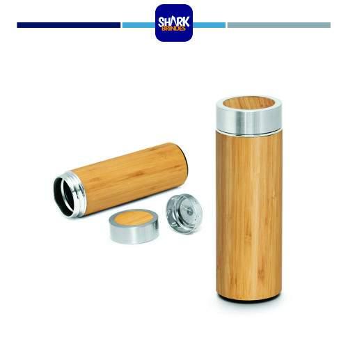 Garrafa térmica Bamboo Personalizada