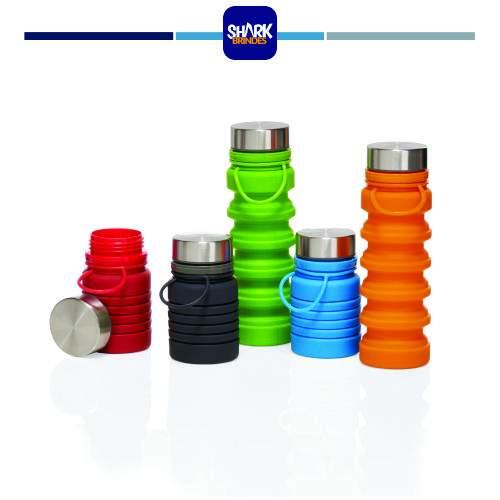 Garrafa em silicone retrátil BPA FREE
