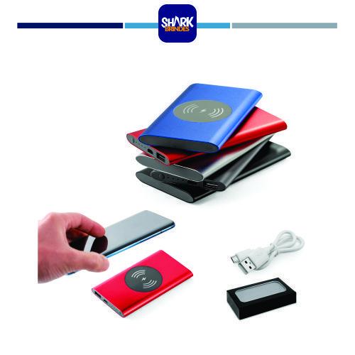 CASSINI. Bateria portátil e carregador wireless