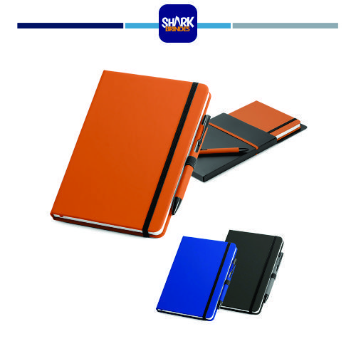 SHAW. Kit de caderno e esferográfica